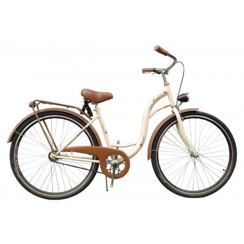 rower miejski VANESSA ANTONIO 28'' BRĄZOWY